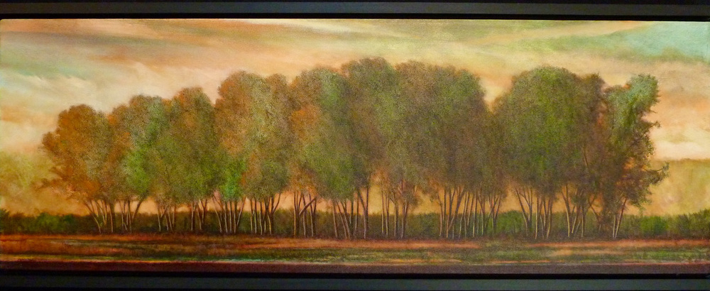 Row of Russian Olives - SOLD