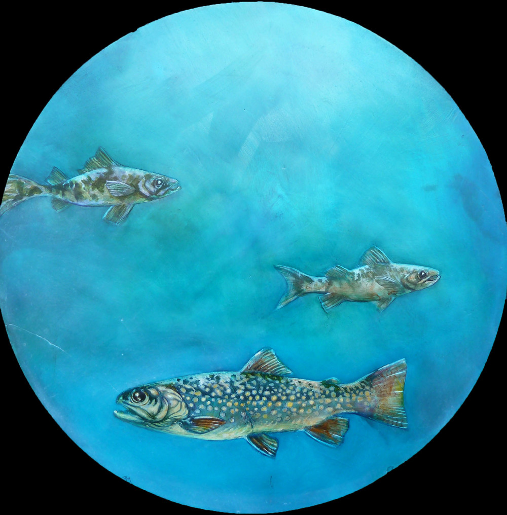 3 Fish Round - SOLD
