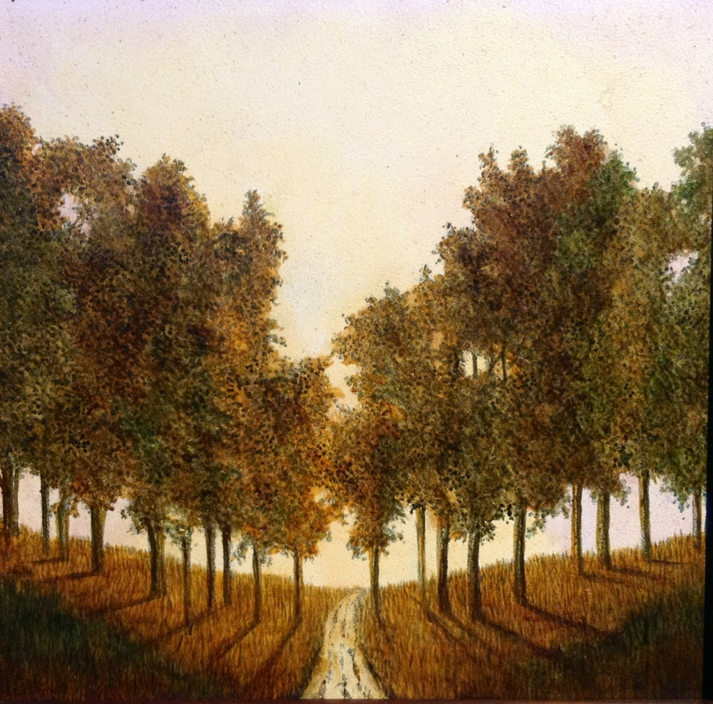 Path To Another Place (Unframed) - $150