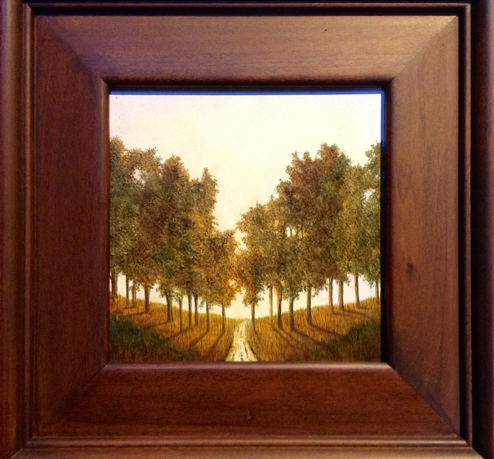 Path To Another Place (Framed) - $185