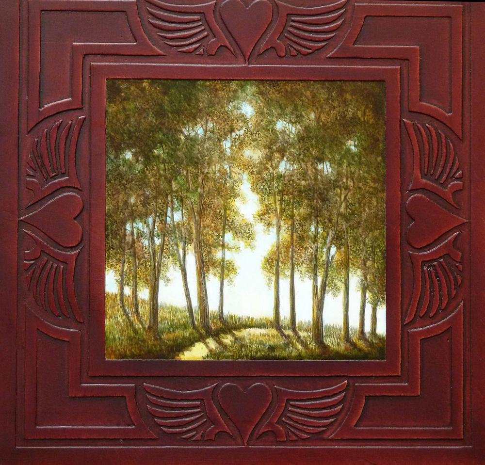 Cottonwoods (Framed) - SOLD