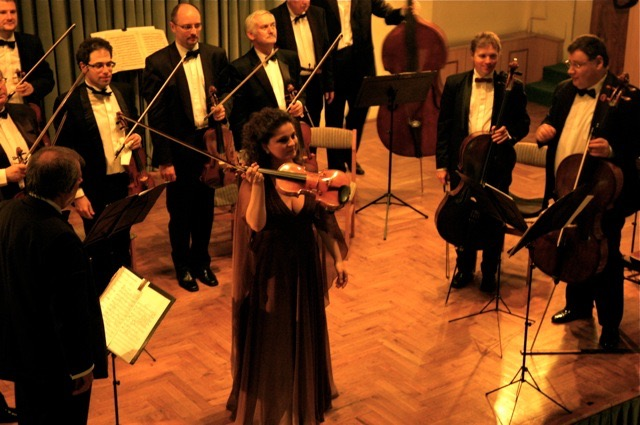 Soloist with the Franz Liszt Chamber Orchestra-Goldmark Festival
