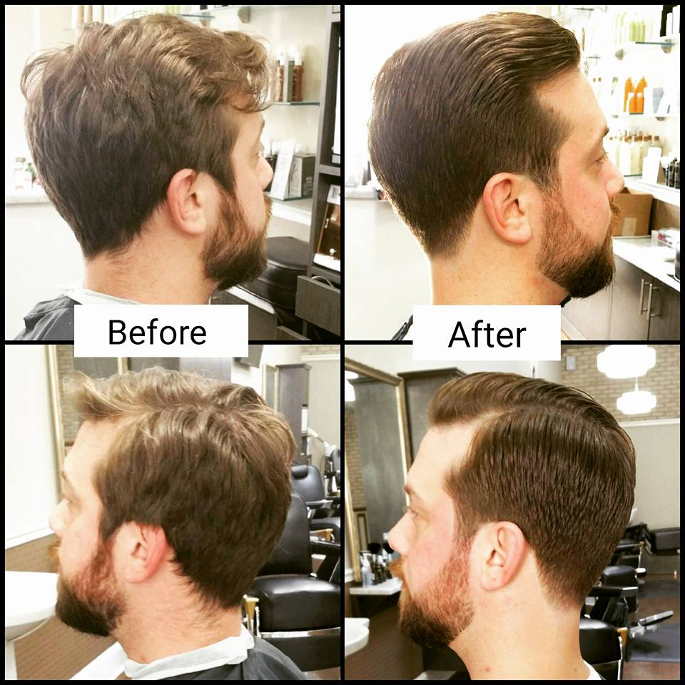 Good Before And After Menu0027s Haircut Series By Master Barber Peter :