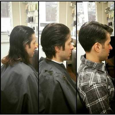 Taper Back with Classic Side Part
