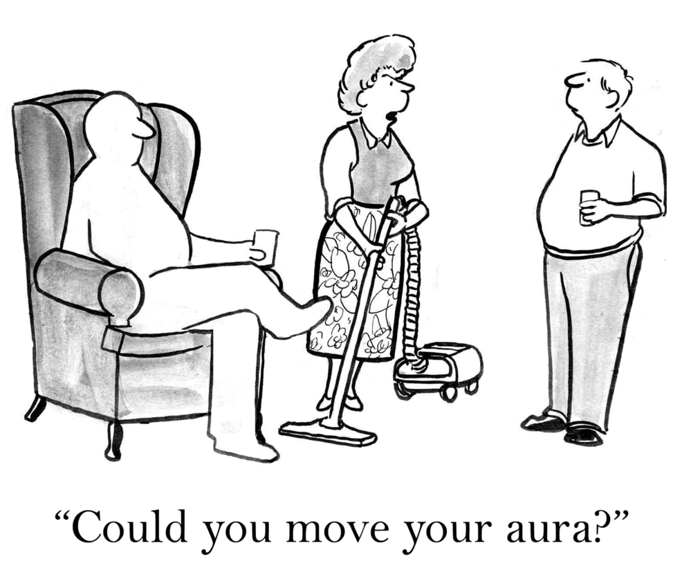 Could you move your aura