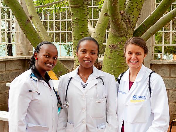 Dr. Vazquez-Bryan helping for a month at Kijabe Hospital, Kenya, Africa