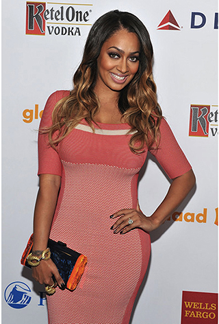 Lala Anthony at the GLAAD Awards 2012