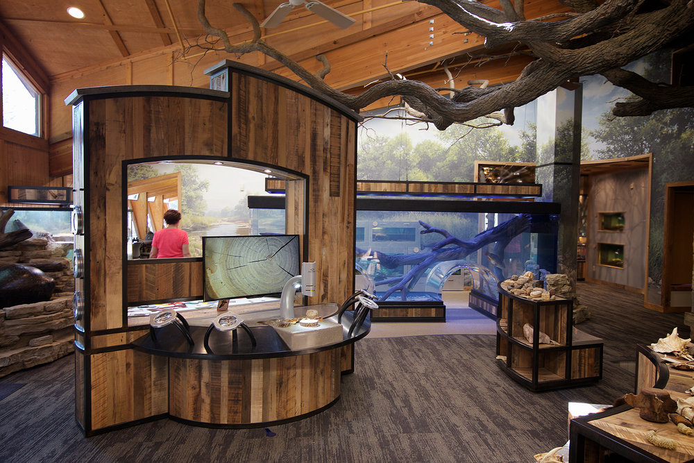 Quarry Hill Nature Center, Rochester MN - Full design and build project to reinvigorate a beloved public resource.