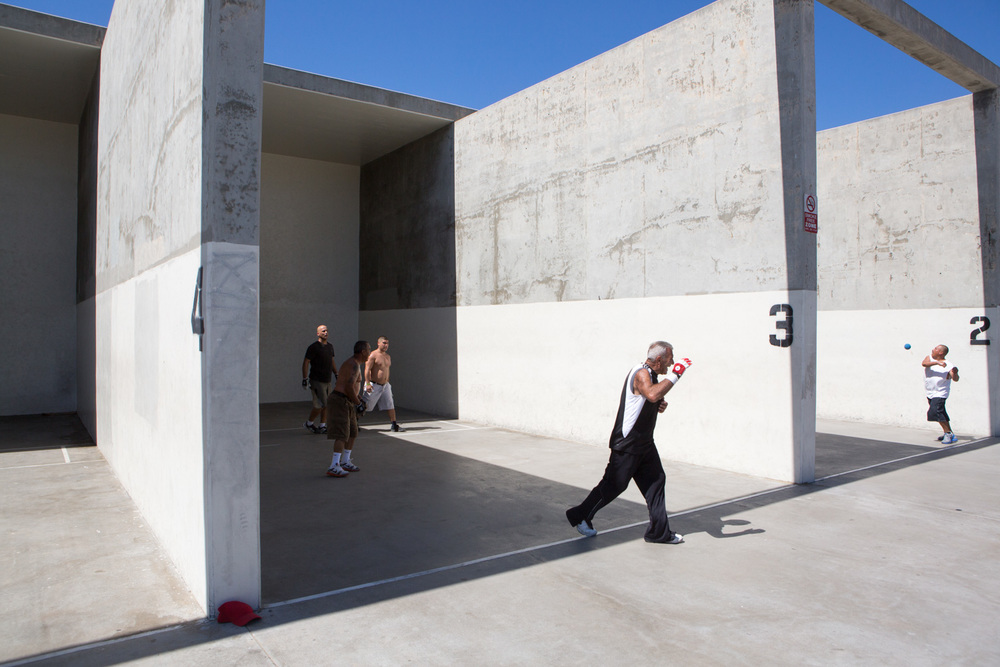Venice Beach, California, Hand ball courts