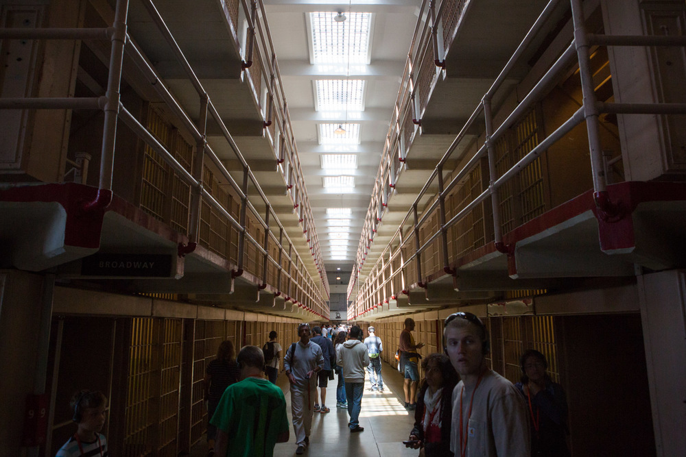 Alcatraz Jail House