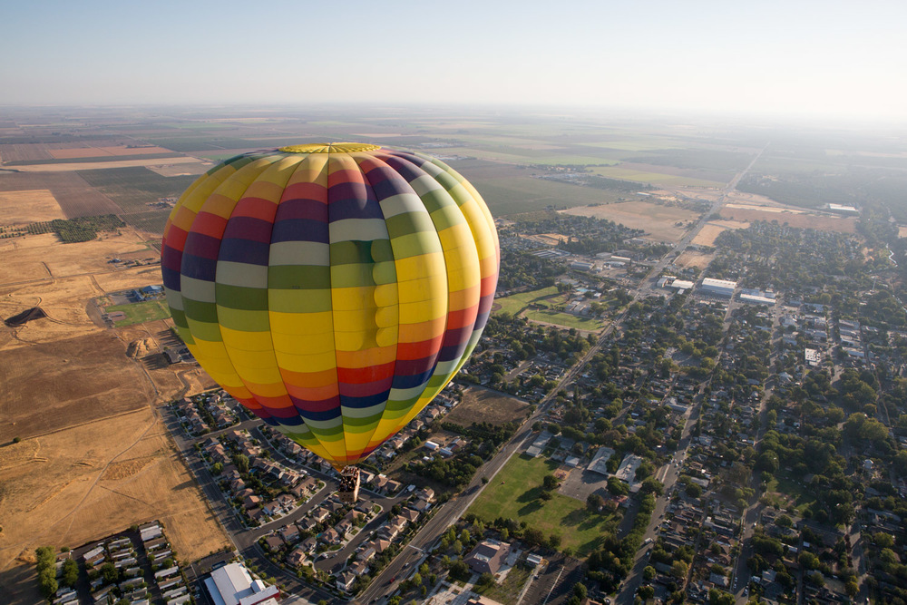 Napa, Hot Air Balloon Ride