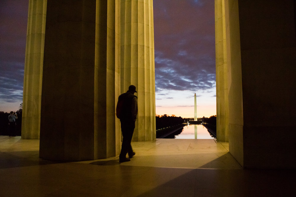 A walk through Lincoln Memorial