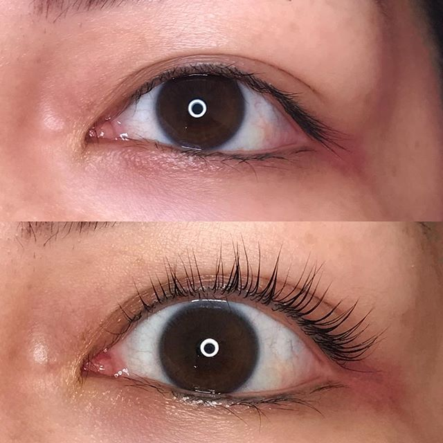 LashLift on a beautiful, down to earth lady @bluesy_nails. These baby lashes got lifted, now they are living their best life.