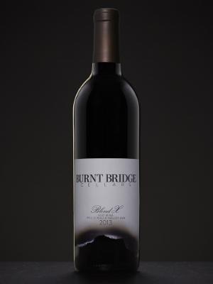 Bordeaux style bottle