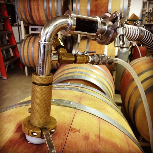 A The Most Simplistic Definition Of Racking Is Transfer Wine From One Vessel To Another Or As In Our Case At Small Winery Moving