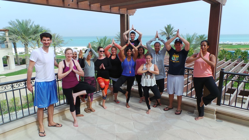 2015 Yoga & WEllness Retreat Group