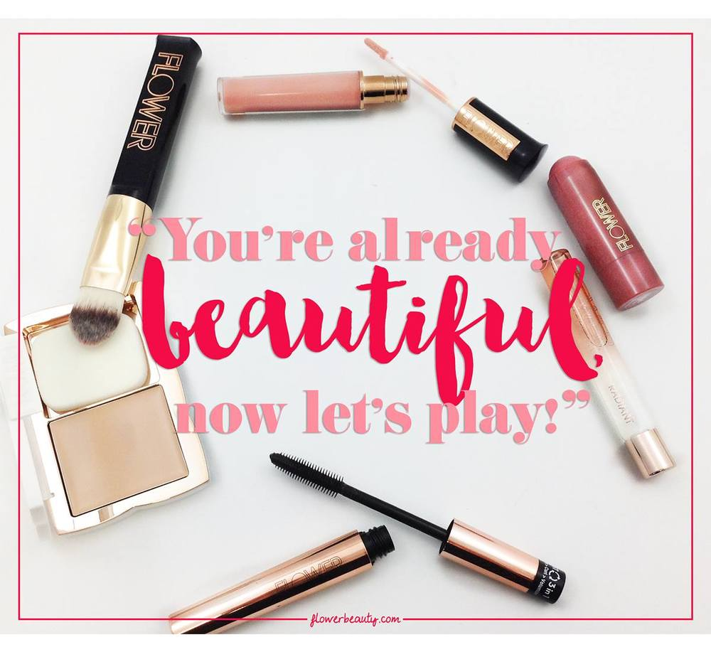 #FLOWERBeauty motto - Campaign