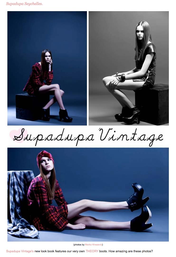 Supadupa Vintage + Seychelles