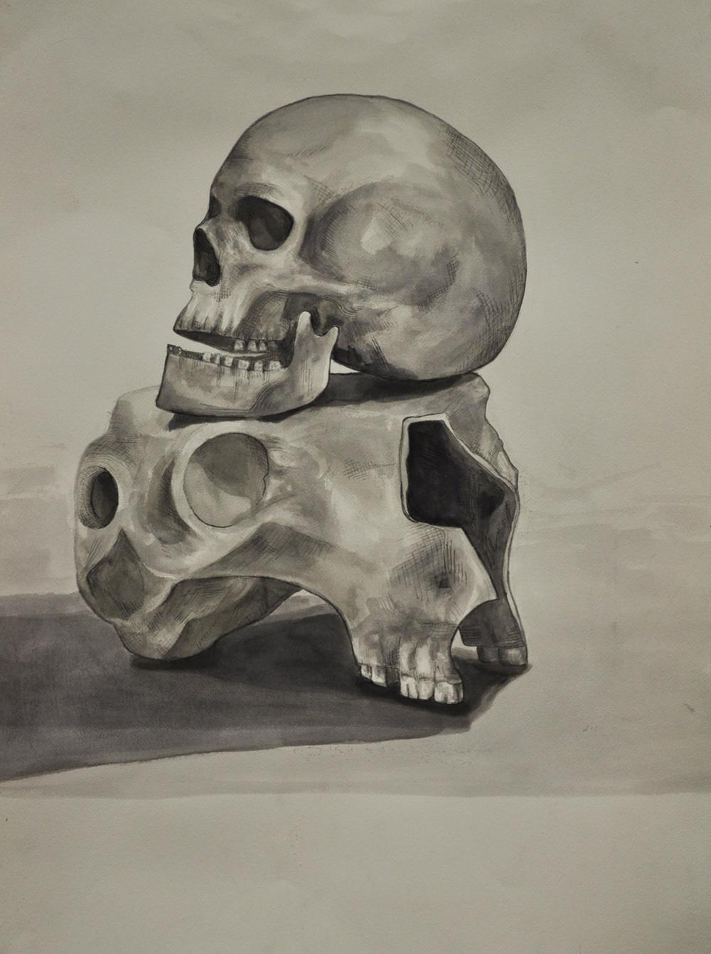 ink skulls