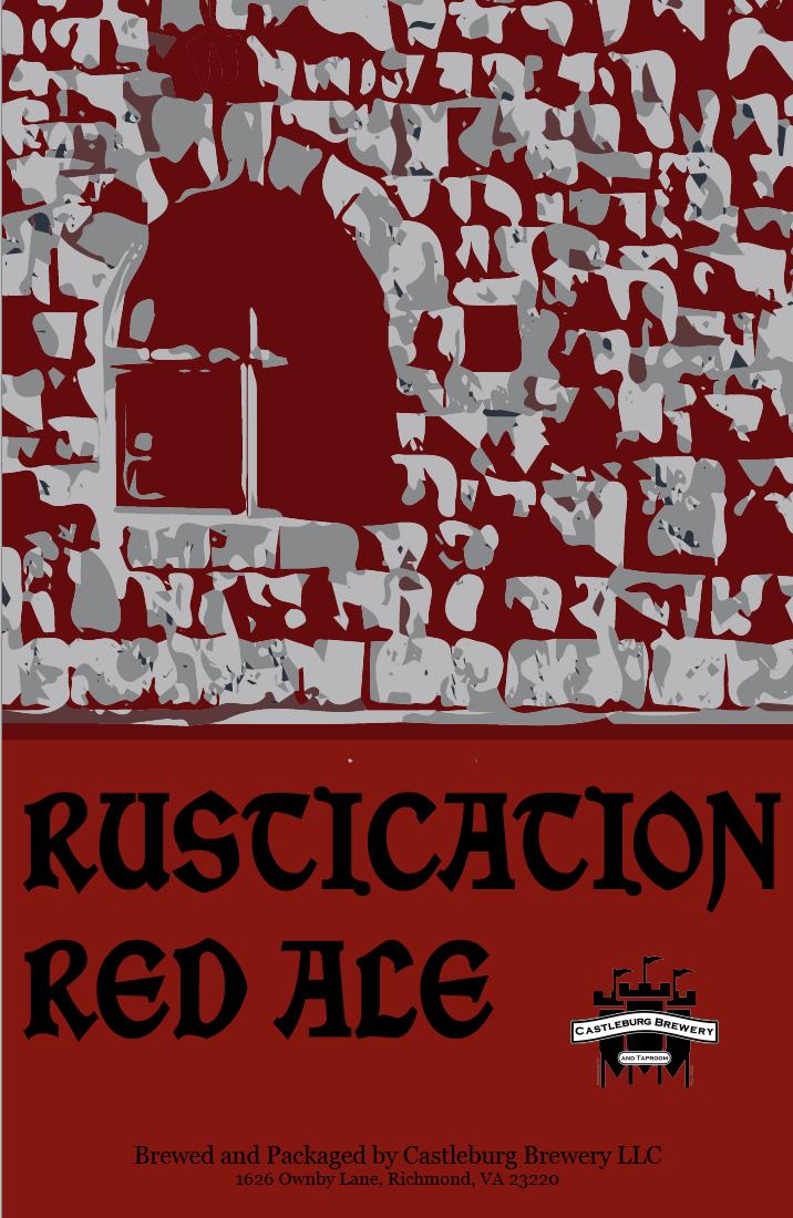 Rustication Red Ale - Castleburg Brewery