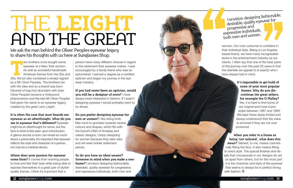 Sunglasses Shop Magazine — Alix James Lawrence