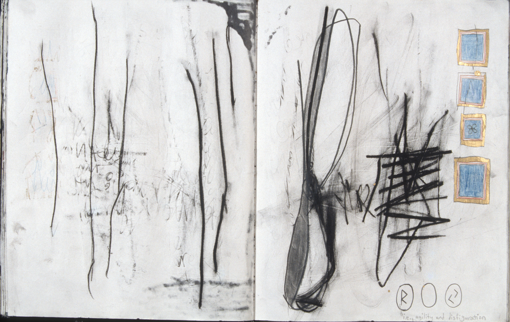 Stolen Sketchbook (Agility and Disfiguration)