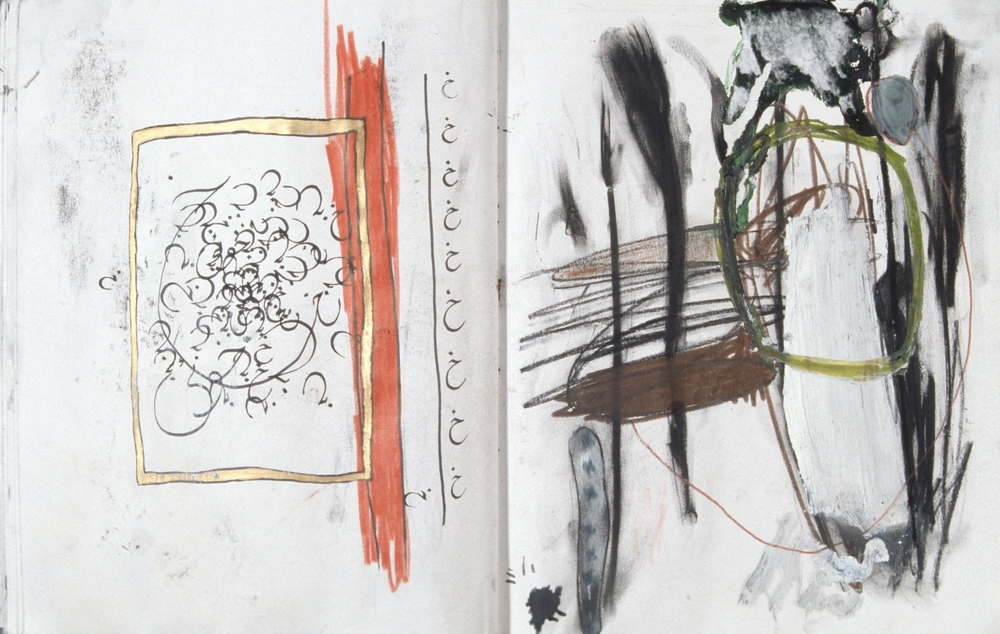 Stolen Sketchbook (Wheel in the Sky)