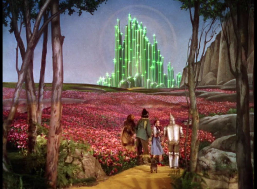 Two Essays About Finding Home In The Wizard Of Oz  Gelareh Khoie The Emerald City