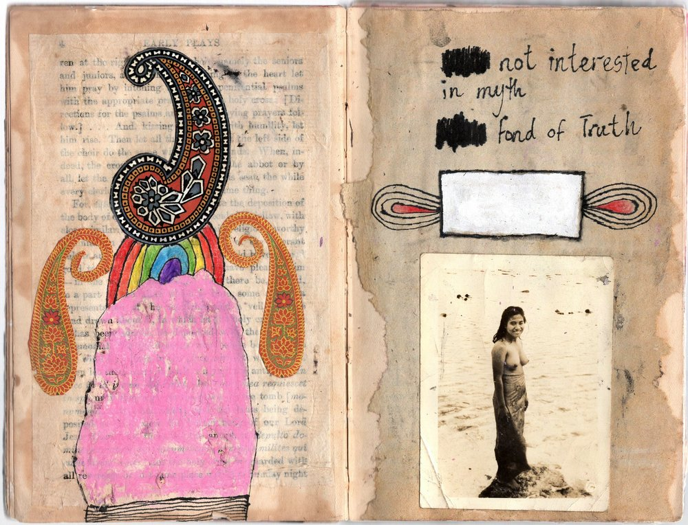 The Big Book Of Rain — Gelareh Khoie Page on