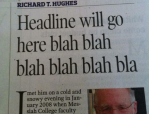 That must have been some deadline!