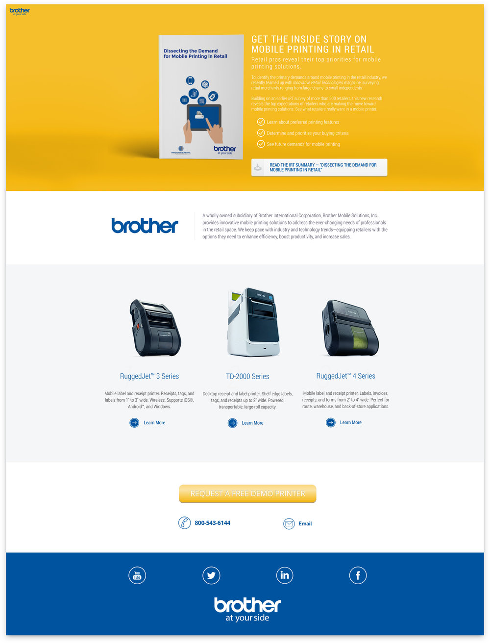 Brother Mobile Solutions: IRT LP