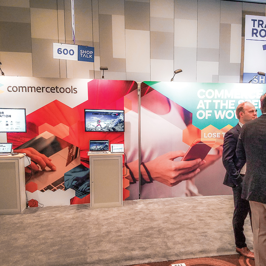 commercetools: Shoptalk Booth 1