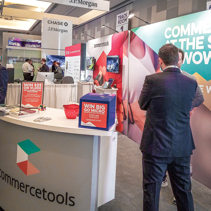 commercetools: Shoptalk Booth 2
