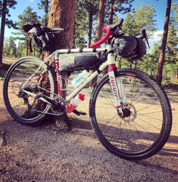 Just your basic mountain biking mayhem.