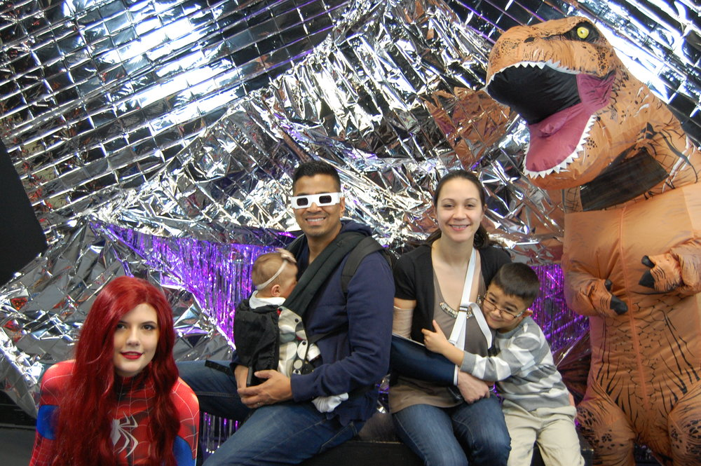 Awesome photo ops at Noon Year's Eve!