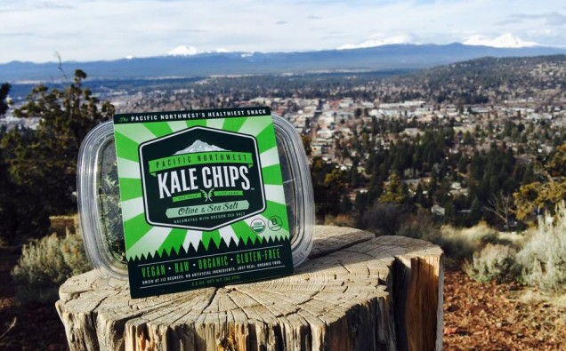 Kale Chips on Pilot Butte