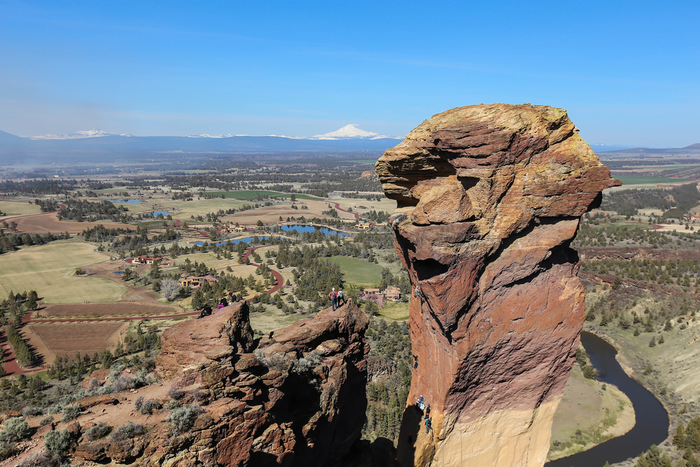 Smith Rock Monkey Face