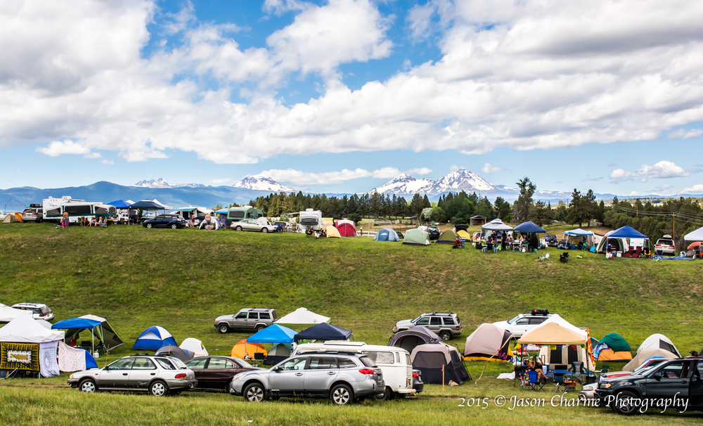 4 Peaks Music Festival Camping and Mountains