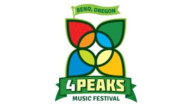 4 Peaks Music Festival Logo