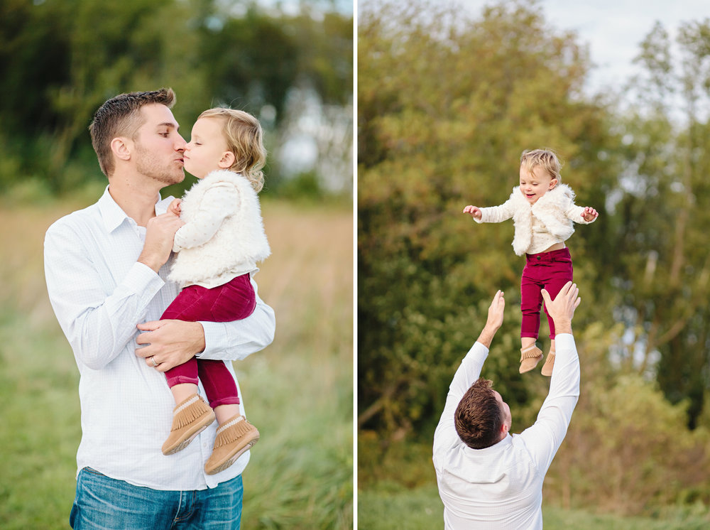 Daddy & Daughter | Family Photography | Elgin, Illinois | Cassie Schott Photography