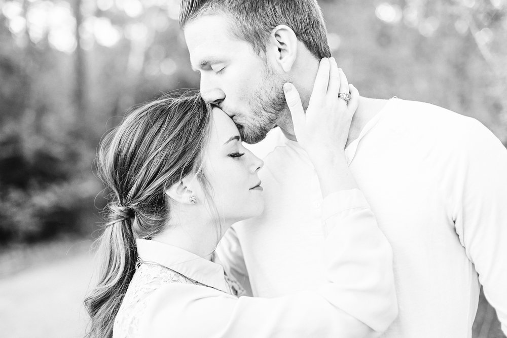 Forehead Kiss | Houston Photographer Cassie Schott Photography