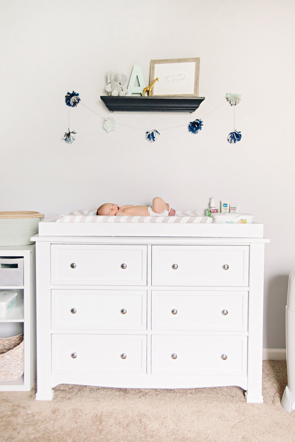 Baby Nursery Inspiration | Animal Theme | Photo by Cassie Schott Photography