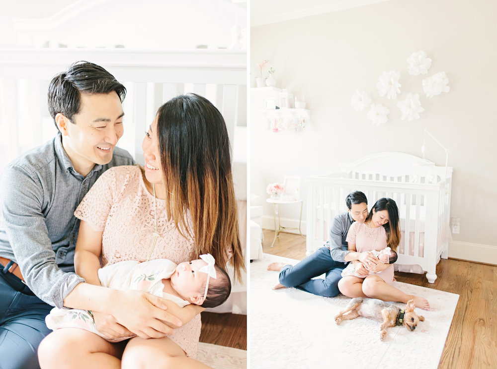 Houston Lifestyle Newborn Photography_Nursery Inspiration