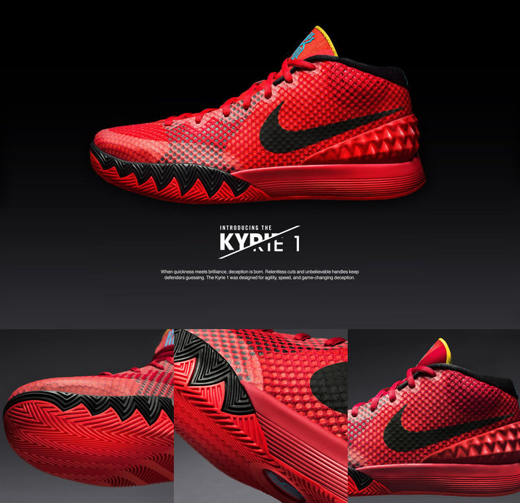 low priced a41c5 d02e1 nike kyrie 1 launch event