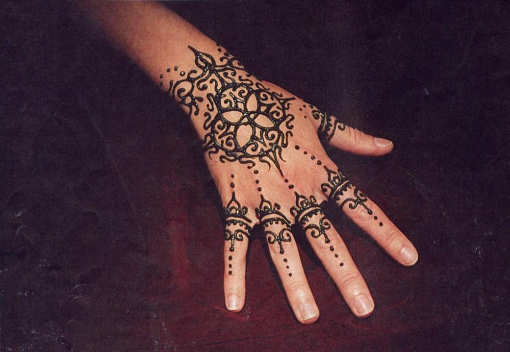 Mehndi Wrist Joint : Henna mehndi u more