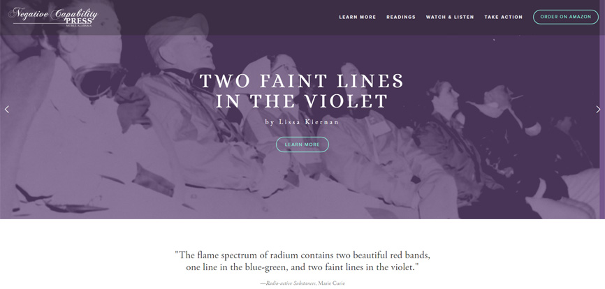Two Faint Lines in the Violet