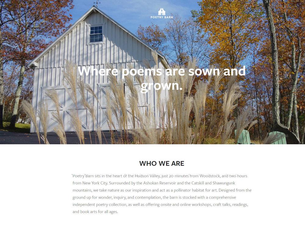Poetry Barn