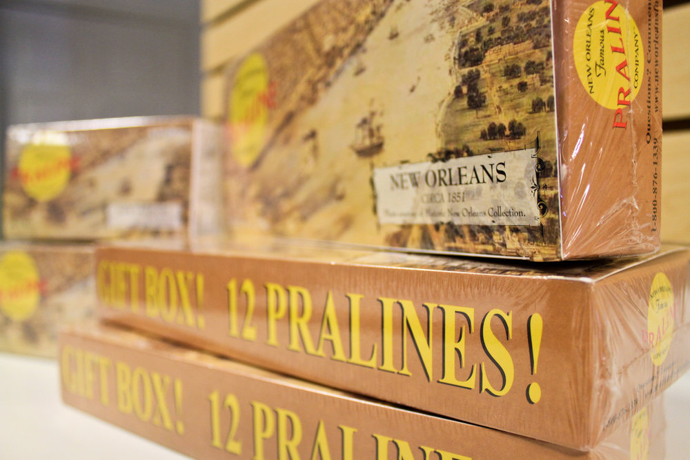 New Orleans Famous Pralines Box Sets at Sweet Candy + Gifts
