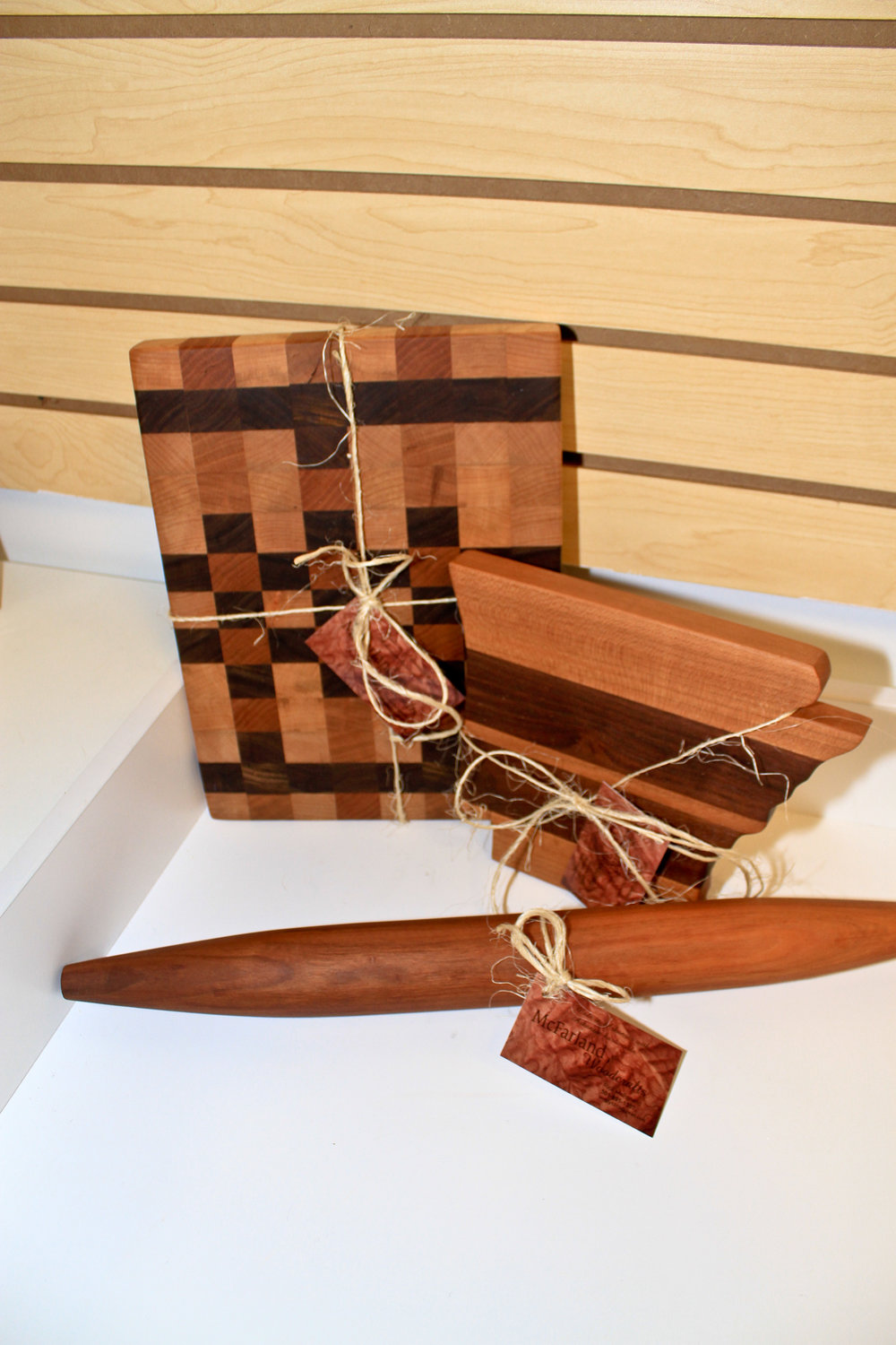 McFarland Woodcrafts items at Sweet Candy + Gifts, great corporate gifts