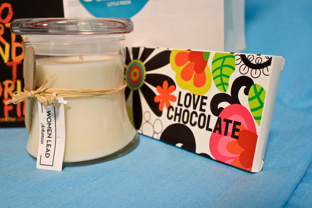 Le Beau de Blanc lotion candle at Sweet Candy + Gifts
